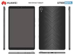Huawei patents an 8 inch budget- MatePad tablet with Dual Speakers